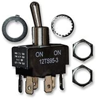 OFF-NONE-ON 12TS115-2 By HONEYWELL DPST SWITCH