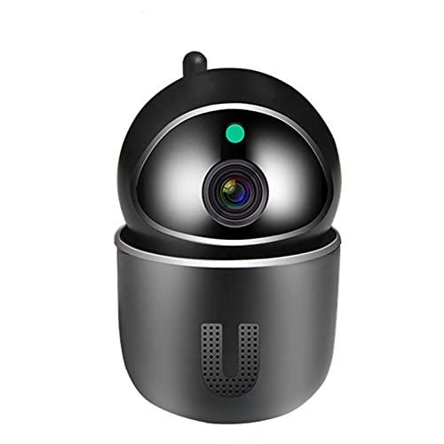 LLKK Cámara IP de 1080 p en la nube de seguimiento automático Cámara de vigilancia de seguridad para el hogar, red WiFi inalámbrica CCTV Cámara Monitor de bebé (color: blanco 32 GB)