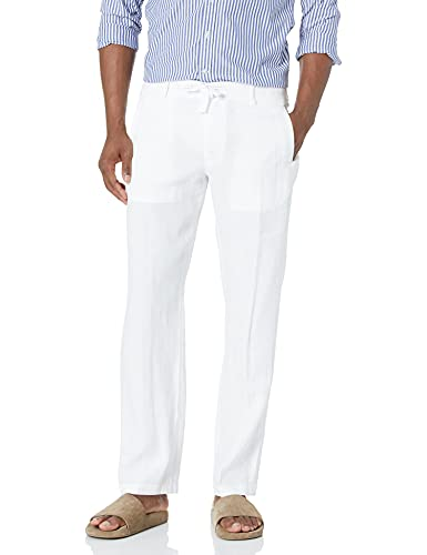 Casual pants for him linen 4th anniversary gifts for men