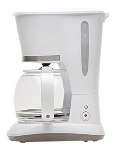 Domo DO476K Independiente Manual - Cafetera (Independiente, Cafetera de filtro, 1,5 L, De café molido, 800 W, Blanco)