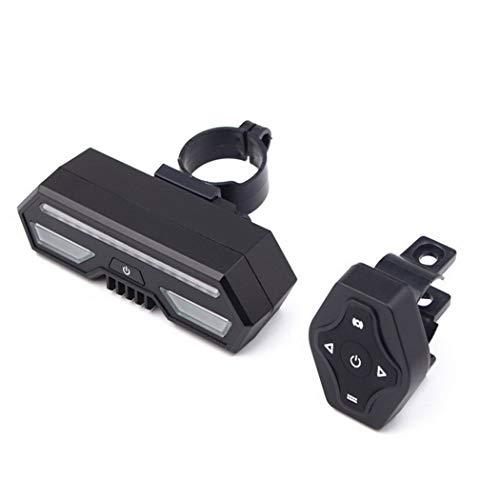 FANXUAN Luces traseras de bicicleta, señal de giro USB con mando a...