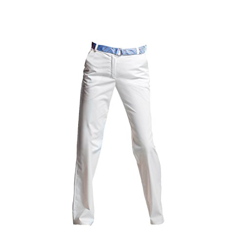 neoLab 4-1210 Berufshose für Damen, Stretch, Größe 42, Weiß