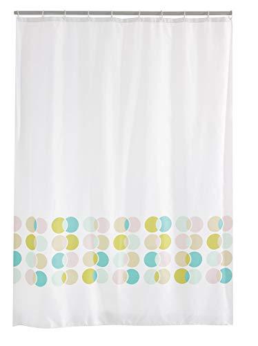 RIDDER Duschvorhang Textil Eclipse Multicolor 180x200 cm