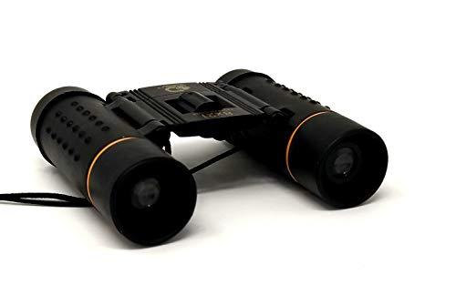 Jumelles 8 x 21 mm compactes avec Pochette télescope Pliable avec étanche pour Enfants/Adultes/extérieur Oiseau/Voyage/Tourisme/Chasse/Observation des Oiseaux par Discovery Adventures