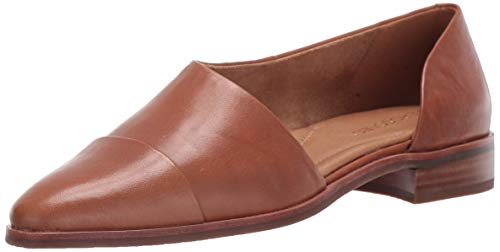 Price comparison product image Aerosoles Women's East Bound Loafer Flat,  Dark Tan Leather,  7.5 M US