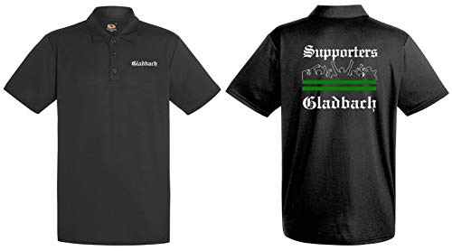 world-of-shirt / Gladbach Herren Polo Supporters Ultras