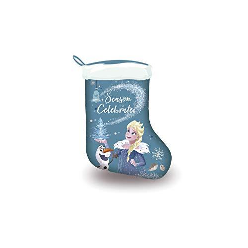 Frozen Micky Maus Einhorn XXL Weihnachtsstrumpf Weihnachtsstrümpfe Christbaumschmuck Nikolausstrumpf Nikolausstiefel Die Eiskönigin Pferd (Frozen - Die Eiskönigin)