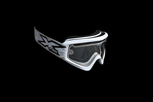 EKS Brand GOX Enduro Adult Motocross Motorcycle Goggles Eyewear - White/One Size Fits All