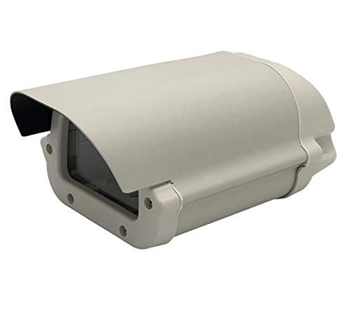 SSXPNJALQ Seguridad CCTV 6 Pulgadas Caja de cámara Cape DE CORRECTAR Sin Recorte de Lentes Cubierta de aleación de Aluminio de aleación de Aluminio