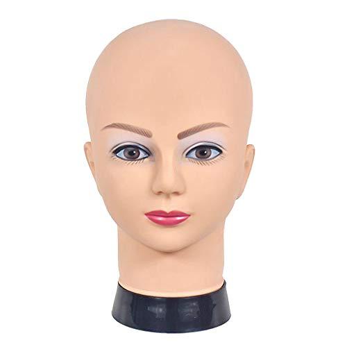 FITYLE Mannequin kopf weibliche perücke kopf profession elle kosmeto logie für perücke herstellung und anzeige hut helm brille oder masken display kopf - 09A-4H
