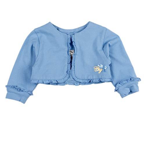 Charanga REPUNTADO Abrigo, Azul (Azul 720), 80 (Tamaño del Fabricante:12-18) para Bebés