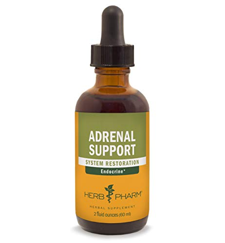 Herb Pharm Adrenal Support Liquid Herbal Formula with Eleuthero and Licorice Liquid Extracts - 2 Ounce