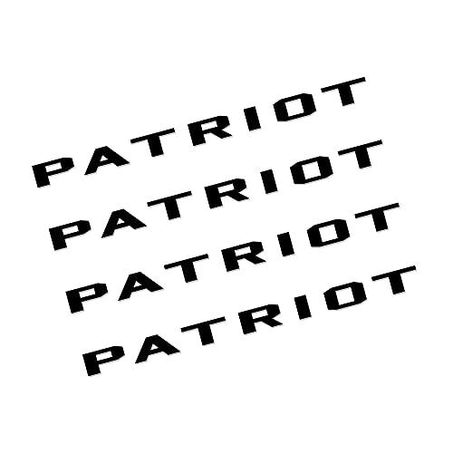 Etiquetas engomadas de las rayas de las llantas 4PCS Pegatinas de llanta de rueda de coche Compatible con Jeep Renegade Patriot Wrangler Cherokee Compass Trailhawk Auto Accesorios de vinilo Decoración