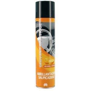 Superclean 020026 Brillant Plastique Orange, 400 ML