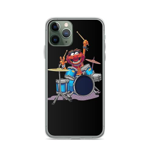 Phone Case Animal Drummer The Show Compatible with iPhone 12 11 X Xs Xr 8 7 6 6s Plus Mini Pro Max Samsung Galaxy Note S9 S10 S20 Ultra Plus