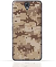 Lenovo Vibe S1 Lite TPU Silicone Case with Desert Military Camouflage Design