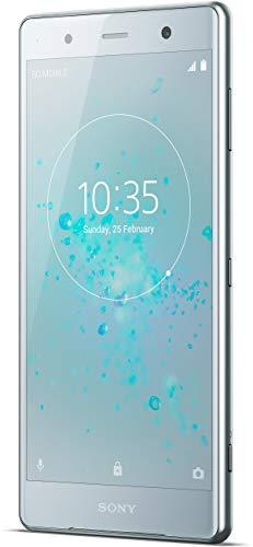 Sony Xperia XZ2 Premium Smartphone Bundle (14,7 cm (5,8 Zoll) 4K HDR Triluminos Display, 6 GB RAM, Dual-Kamera, Dual-Sim, Android 8.0) Silber + gratis 64 GB Speicherkarte [Exklusiv bei Amazon]