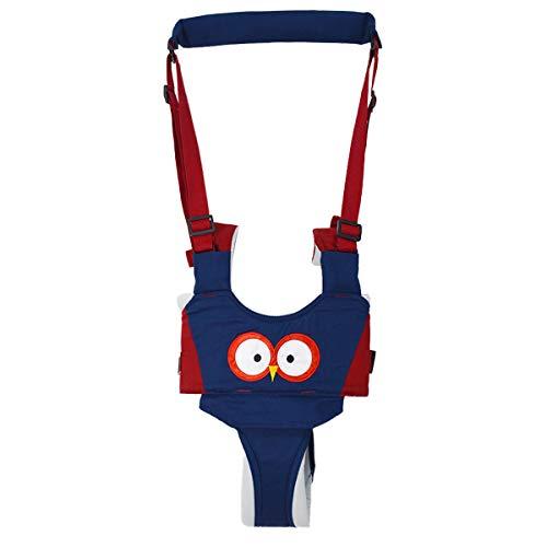 Lauflernhilfe Gehhilfe für Baby,Baby Lauflernhilf, Kinder Lauflernhilfe,Stehen Gehen Lernen Helferfür Kinder 6-27 Monthe Baby Kleinkind Kind Kinde (blau und rot)