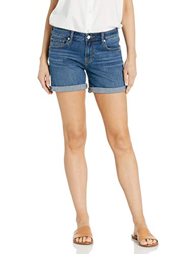 Lucky Brand womens Mid Rise Roll Up Denim Shorts, Spanish, 30 US