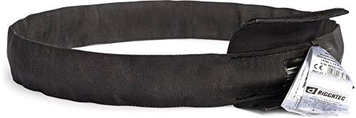 Riggatec Rundschlinge Steelflex Schwarz 1t, Nutzlänge:1,0 m - Umfang:2,0 m