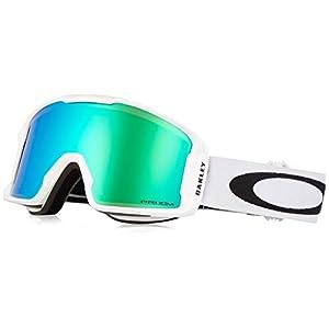 Oakley Line Miner Snow Goggle, Matte White, Medium, Prizm Jade Iridium Lens