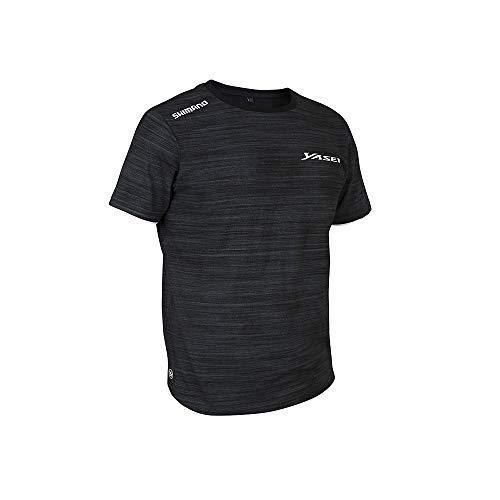 SHIMANO Yasei T-Shirt XL Grey/Black (XL)