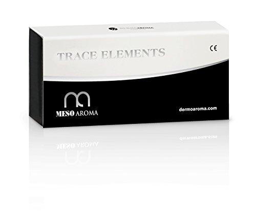 MESOTERAPIA- MAW   Trace ELEMENTS- inyecciones o microagujas Dermaroller o Dermapen. Visage, cuello, tiros de mano, cuero cabelludo, pérdida de cabello 5 x 10ml