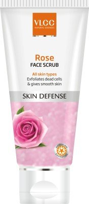 VLCC Rose Face Scrub(80 g)(Ship from India)