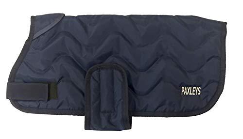 Paxleys TM Hundemantel, gesteppt, für den Winter, warm, für kleine und mittelgroße Hunde, 100% wasserdicht, Anti-Angst, Brustschutz