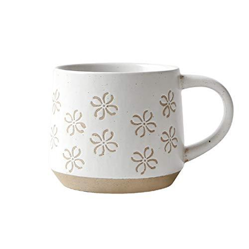 Taza de café retro de la taza de gran capacidad de la taza de la taza del desayuno del desayuno Taza de la oficina de la taza (Color : 2)