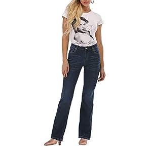 Women's Le Mel Classic Stretch Curvy Bootcut Jeans