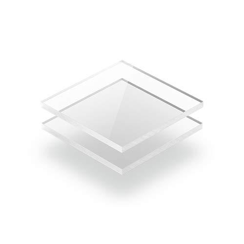Kunststoffplattenonline.de - Acrylgas XT Platten/Acrylglasplatten XT - Transparent - 4mm im Zuschnitt (50 x 10 cm (500 x 100 mm))