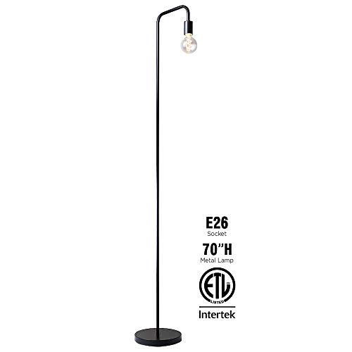 O'Bright Industrial Floor Lamp for Living Room, 100% Metal Lamp, 70