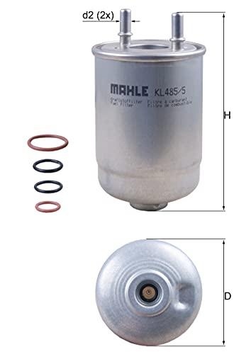 Mahle Filter KL485/5D Filtro De Combustible