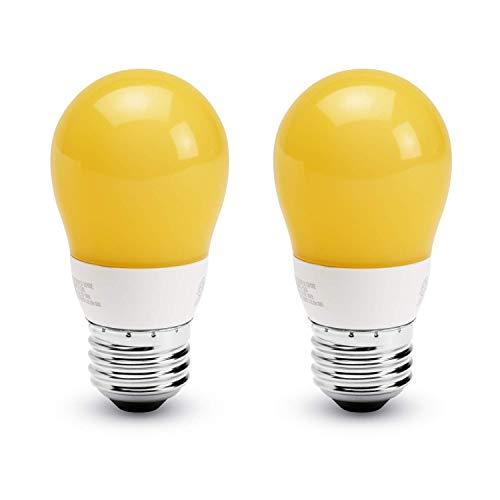 Asencia P15-Sleep Enhancing-Blue Blocking LED Light Bulb, 2-Pack, SleepyBaby - Pre-Sleep