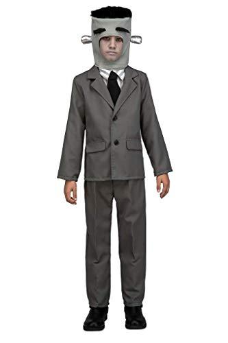 My Other Me - Disfraz Frankenstein, 10-12 años, Gris (Other Me 205313)