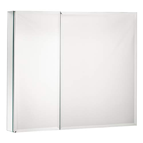 MOVO Double Doors Medicine Cabinet with Mirror, 30 inch X 26 inch -