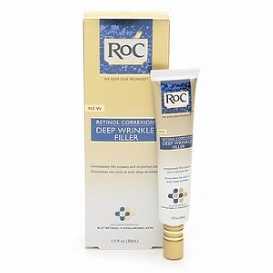 いとこブラウン影響するRoC レチノール コレクション ディープリンクル フィラー RoC Retinol Correxion Deep Wrinkle Filler