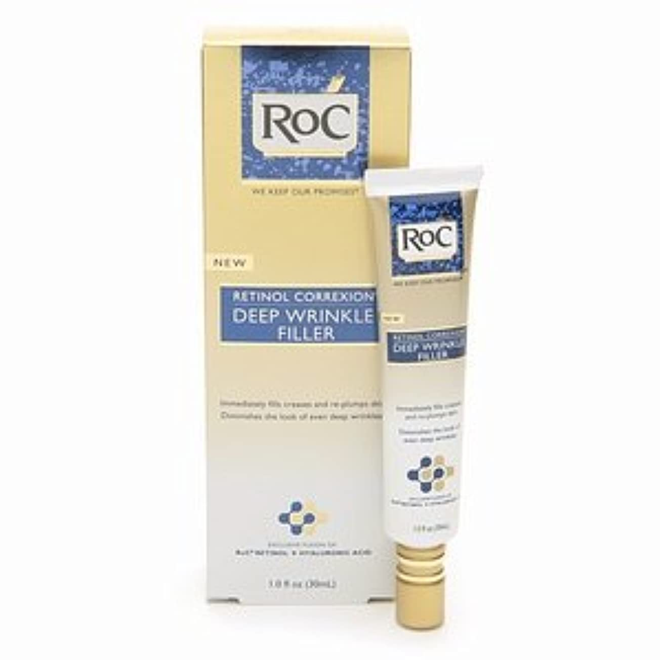 損傷テレビ発生RoC レチノール コレクション ディープリンクル フィラー RoC Retinol Correxion Deep Wrinkle Filler