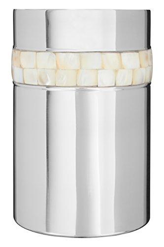 Premier Housewares–Glacette con intarsi in Madreperla, Colore Argento