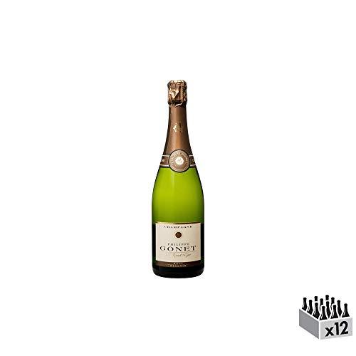 Champagne Réserve Brut - Champagne Philippe Gonet - Rebsorte Pinot Noir, Chardonnay, Pinot Meunier - 12x75cl