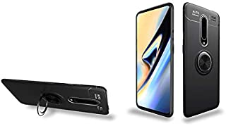OnePlus 8 Case,360° Rotating Ring Kickstand Protective Case,Silicone Soft TPU Shockproof Protection Thin Cover Compatible ...