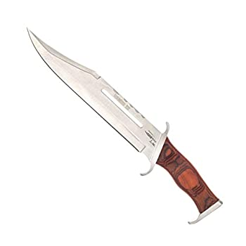 Knife Outdoor Camping Survival First Blood Part 3 Sylvester Stallone Brown