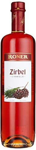 Roner Zirbel (1x 0,7l) - Liquore al Pino Cirmolo Distilleria Artigianale Alto Adige Südtirol piu premiata d'Italia - 700 ml