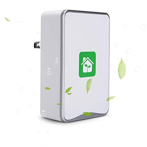 Mini Portable Silent Air Cleaner, BLANDSTRS Plug-in Air Purifier, Travel-Size Air Purifier...