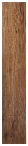 Achim Home Furnishings VFP2.0MO10 3-Foot by 6-Inch Tivoli II Vinyl Floor Planks, Medium Oak, 10-Planks