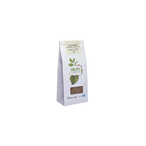 HELPS INFUSIES - Infusie van groene anijs in bulk. Spijsverteringsanijs thee en gasverlichting. 100 gram bulkzak.