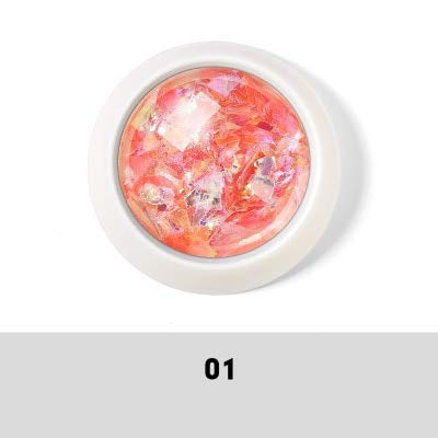 MEIYY Décoration des ongles 1Box Nouvelle Irrégulière Paillettes À Ongles Mélanger Coloré Étincelles Nail Art Paillettes Pour Manucure Maquillage Diy Décorations Body Art