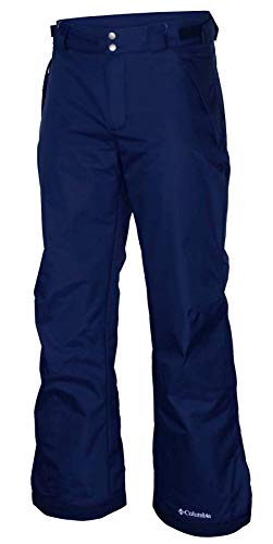 Men's Arctic Trip Omni Heat Ski Snowboarding Waterproof Pants Navy Blue (Large)