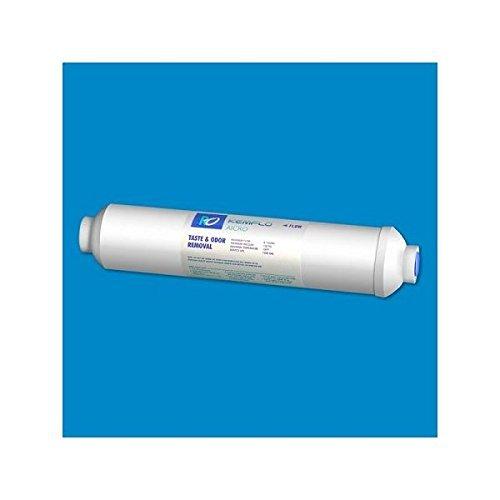 Kemflo Aicro AICRO-NSF 10 inch x 2 inch 1/4 inch FPT GAC Inline Filter by Kemflo